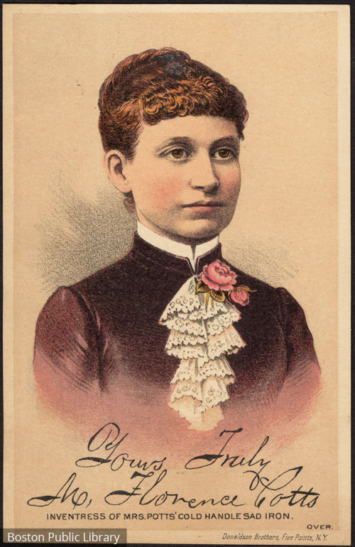 A picture of Mary Floence Potts from around 1895